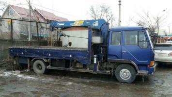 Кран манипулятор. Доставка грузов по Бишкеку и КР