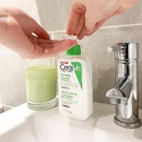 Увлажняющий очищающий крем гель CeraVe