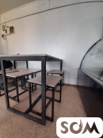 Продаю столы, стеллажи, 1-а спальная кровать с матрацем