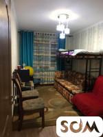Продам 3х комнатную квартиру 104 серии Этаж 1/4 Не угловая Правда/ Боконбаева