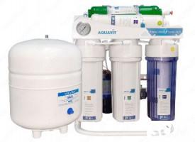 Фильтры для воды премиум класса 6 ступеней фильтрации воды и дезинфекц
