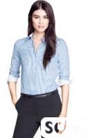 Рубашка светло-голубая H&M
