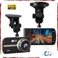Автомобильный видеорегистратор, оснащенный сразу двумя камерами