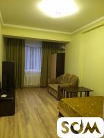Сдам отличную элитную 1-комнатную квартиру в Центре, 20 тысяч сом