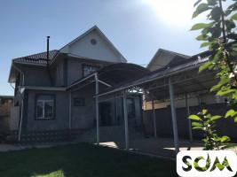 Продается двухэтажный дом в селе Кок-Жар тел  ***
