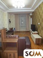 Сдаю квартиру, 2-комнатную в элитном доме, евроремонт, район Исанова-